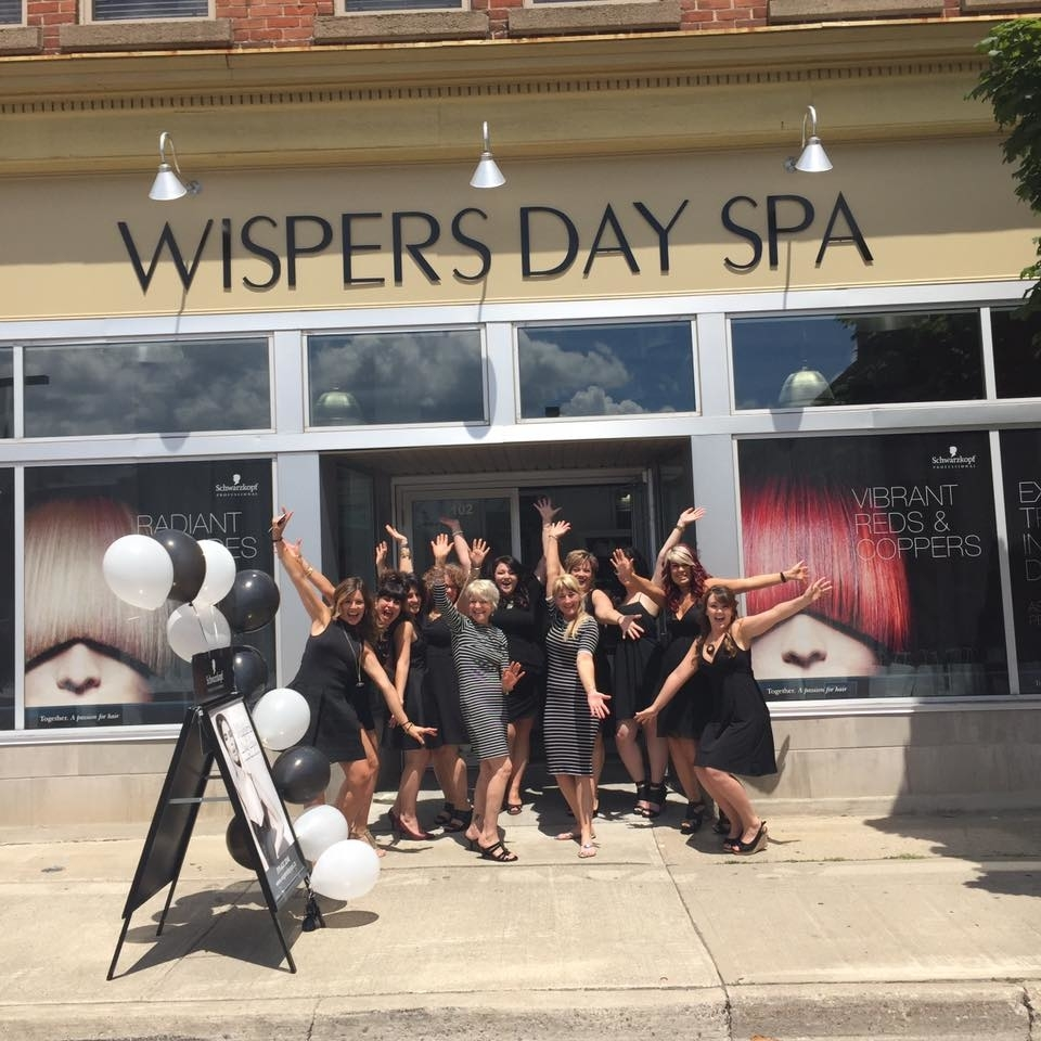 Wispers Hair & Day Spa in Cambridge: Grand Opening
