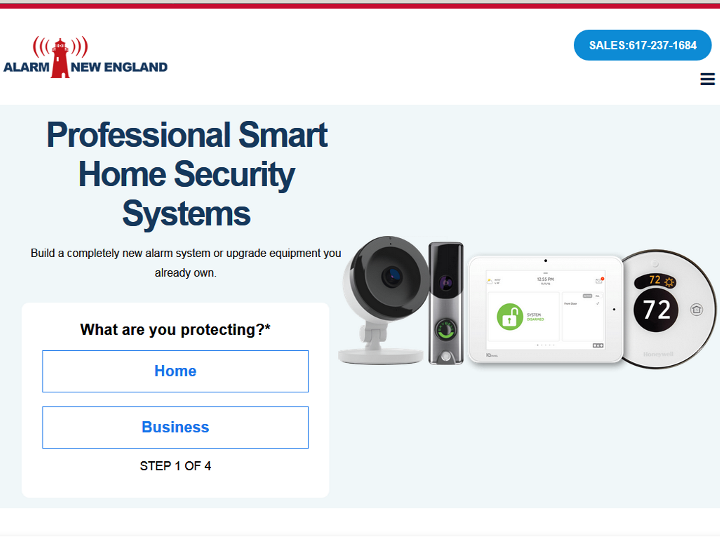 Professional home security system  in North shore / Newburyport ma