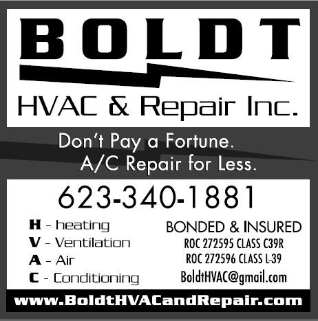 Boldt HVAC & Repair Inc.
