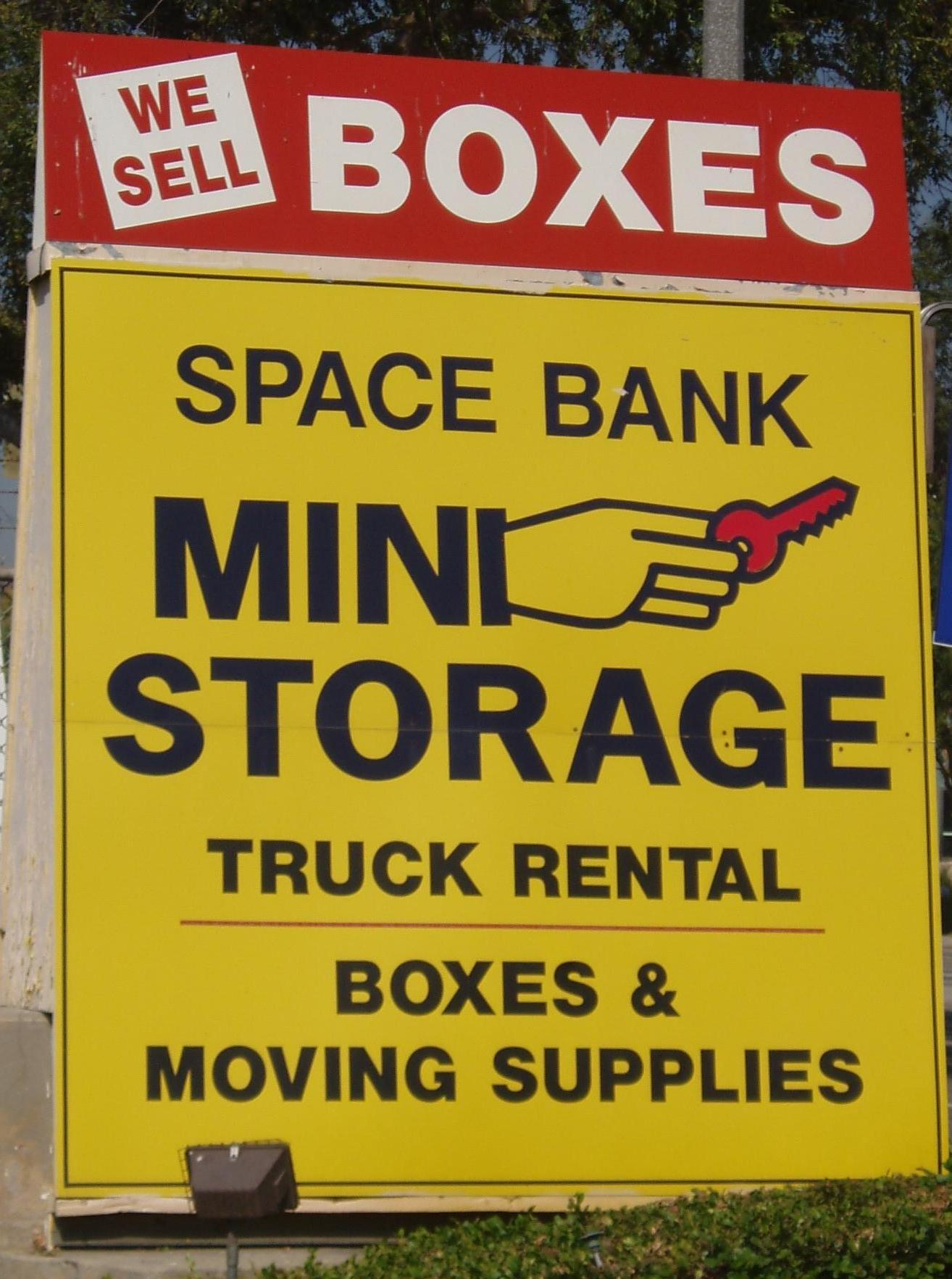 A Space Bank Mini Storage