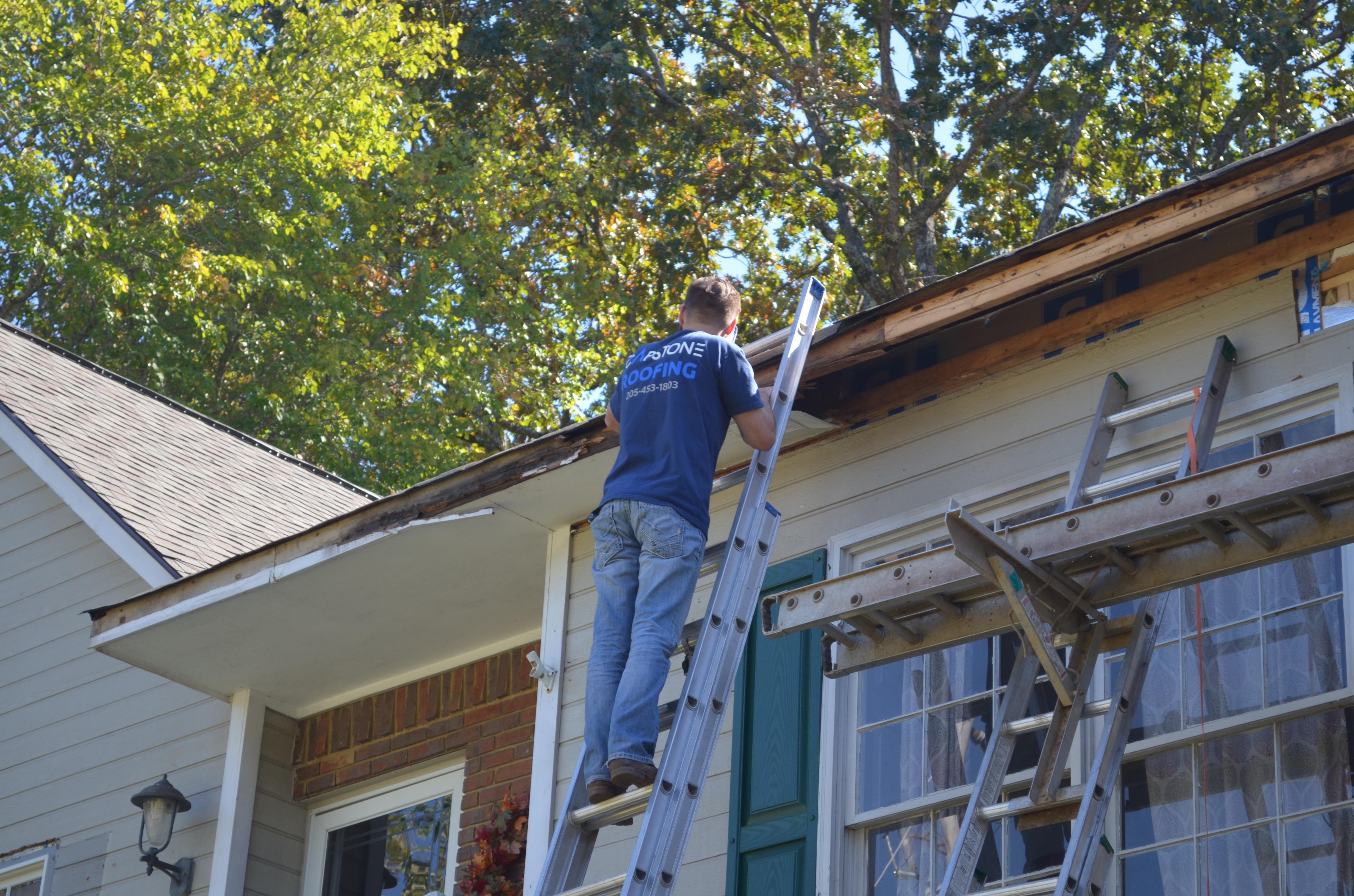 Roof, insulation, siding, facia, soffit, and gutter job in Birmingham, Alabama.