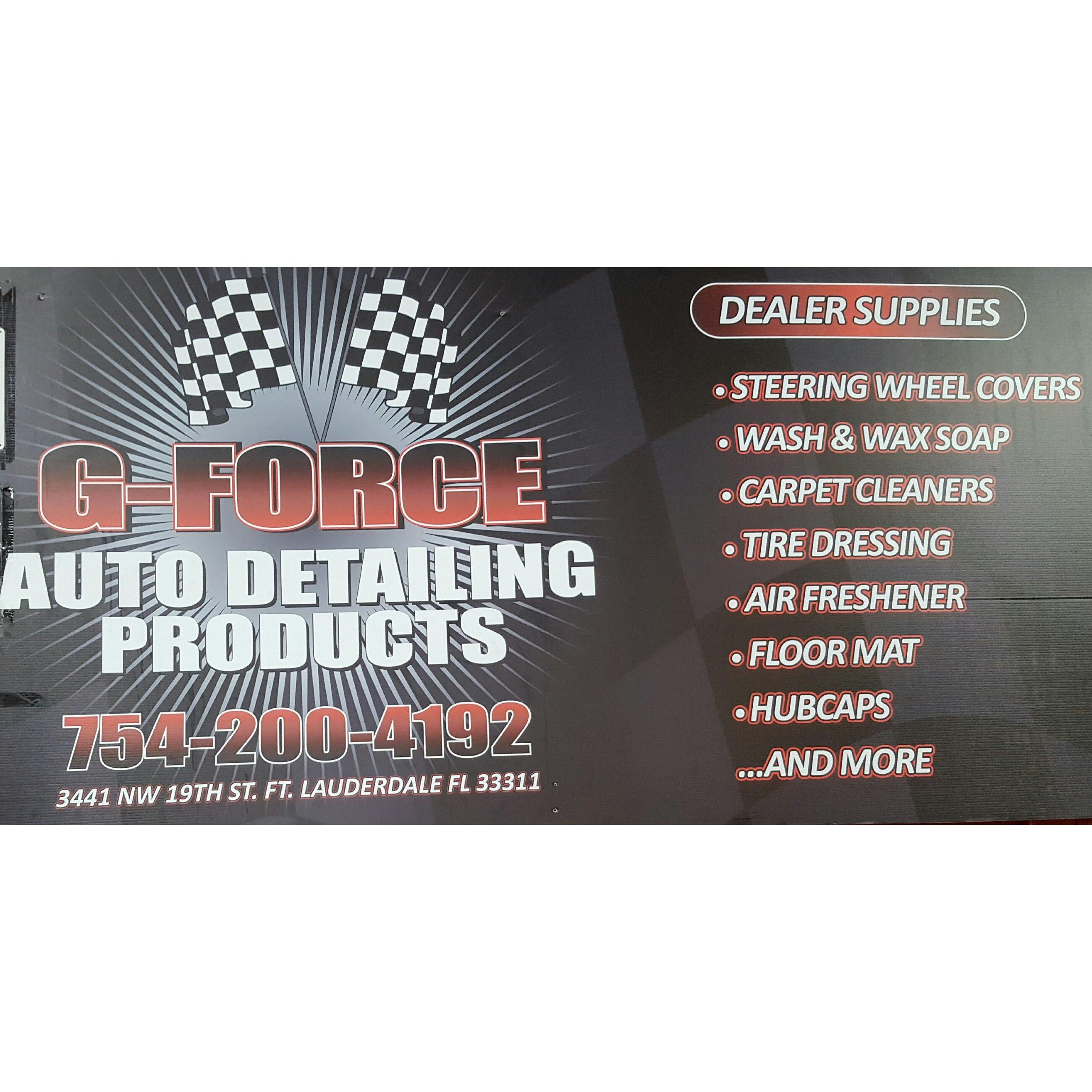G-Force Auto Detailing Products