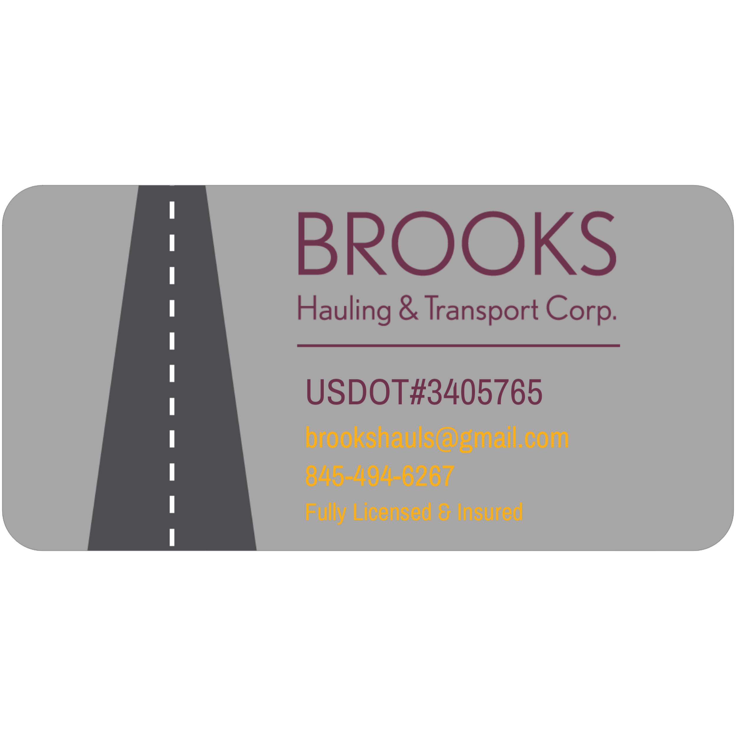 Brooks Hauling & Transport