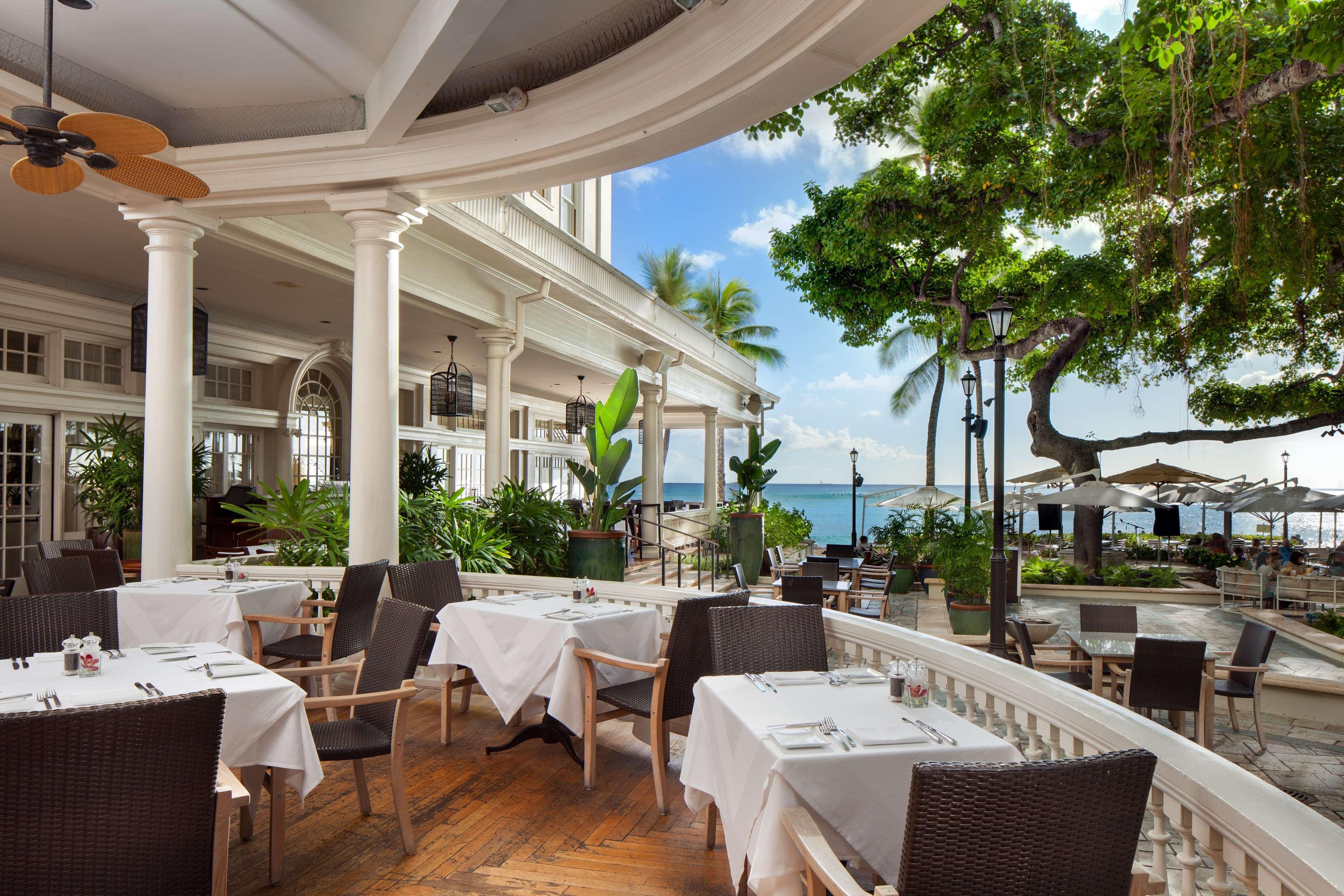 Moana Surfrider Hotel Restaurant