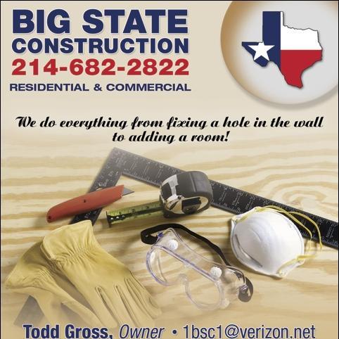 BIG STATE CONSTRUCTION INC
