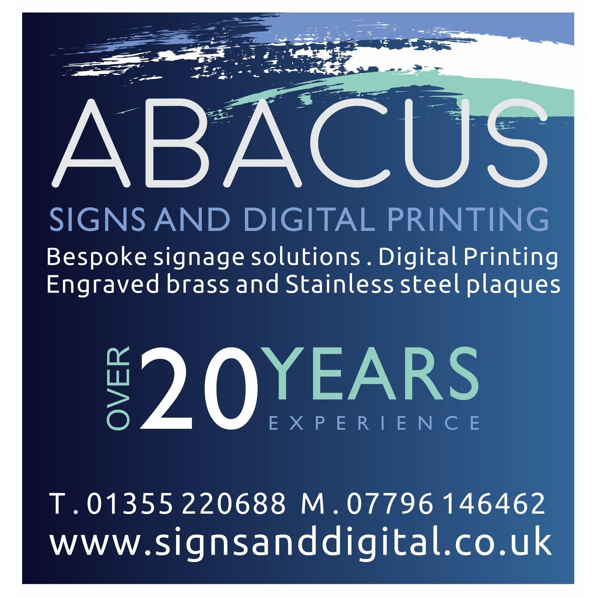 Abacus Signs & Digital Ltd - Glasgow, Lanarkshire G75 0QR - 01355 220688 | ShowMeLocal.com