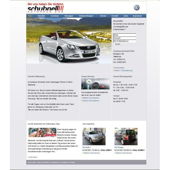 Bild zu Schubnell OHG Autohaus in Zell im Wiesental