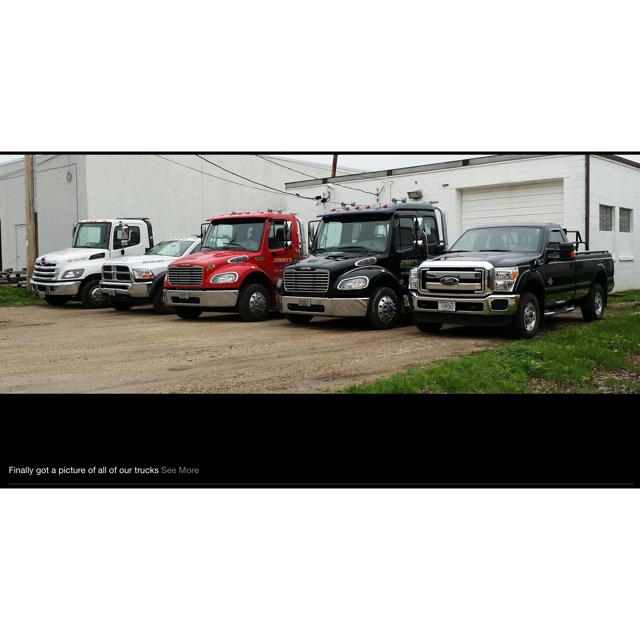 Jimmy's Towing Inc.