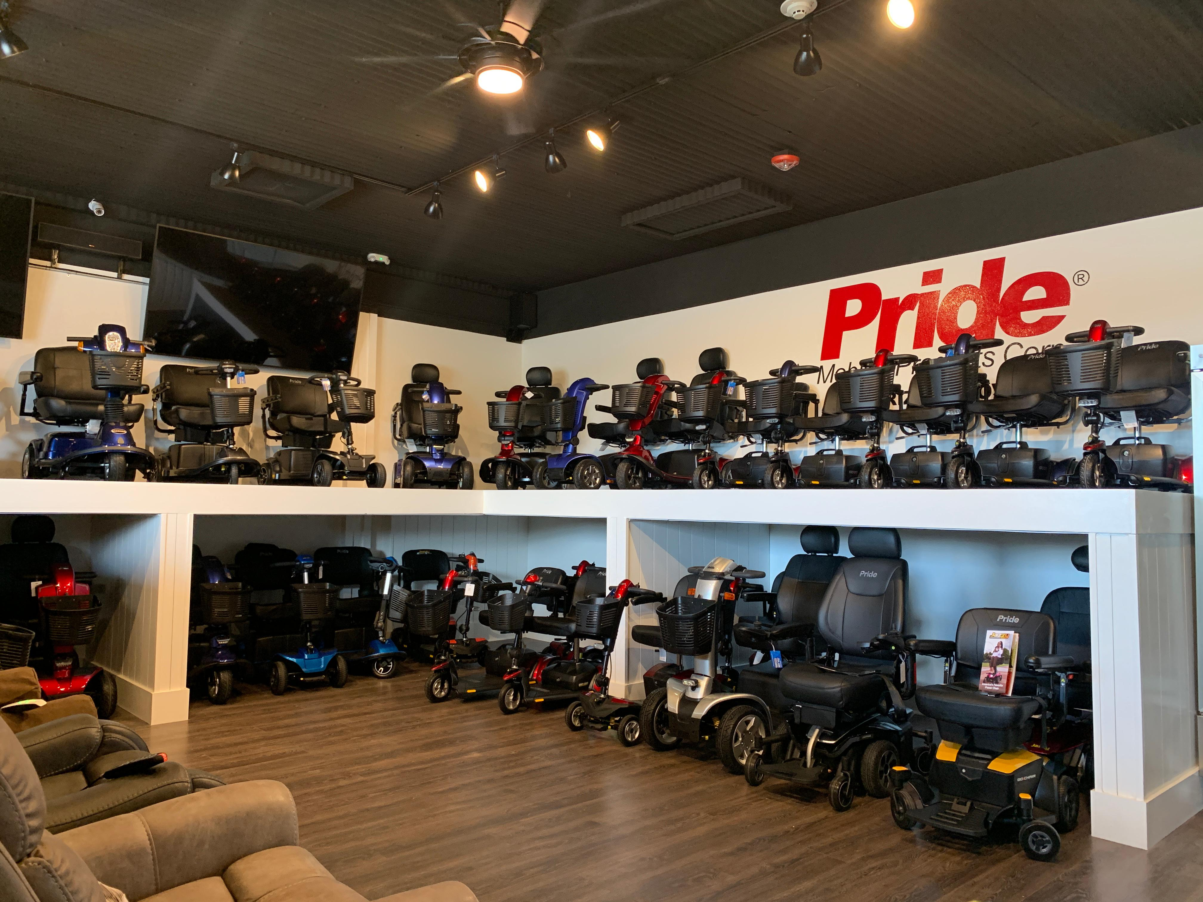 The Mobility Store  by Gold Mobility Scooters. We sell and rent top of the line Pride Mobility Scooters in our rent a scooter line. Theme Parks and Orlando Florida Area scooter rentals. Best rental Prices, Premium brand new scooters for rent, Free Delivery and Pickup, Free Damage Waver, Free Accessories, and Custom upgrades. 5 star rated scooter rental company. Scooter Rental info at https://goldmobilityscooters.com or Call us at 407-414-0287