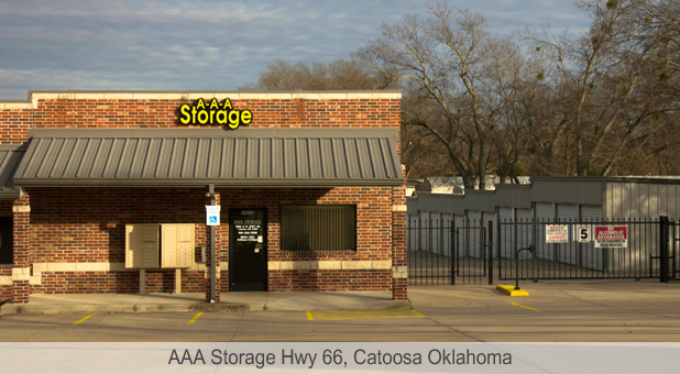 aaa storage hwy 66 catoosa oklahoma ok. Black Bedroom Furniture Sets. Home Design Ideas
