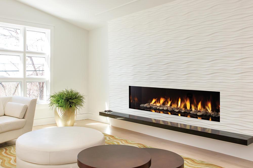Fireplace Gallery in Edmonton: Regency City Series New York View 72 Designer Gas Fireplace