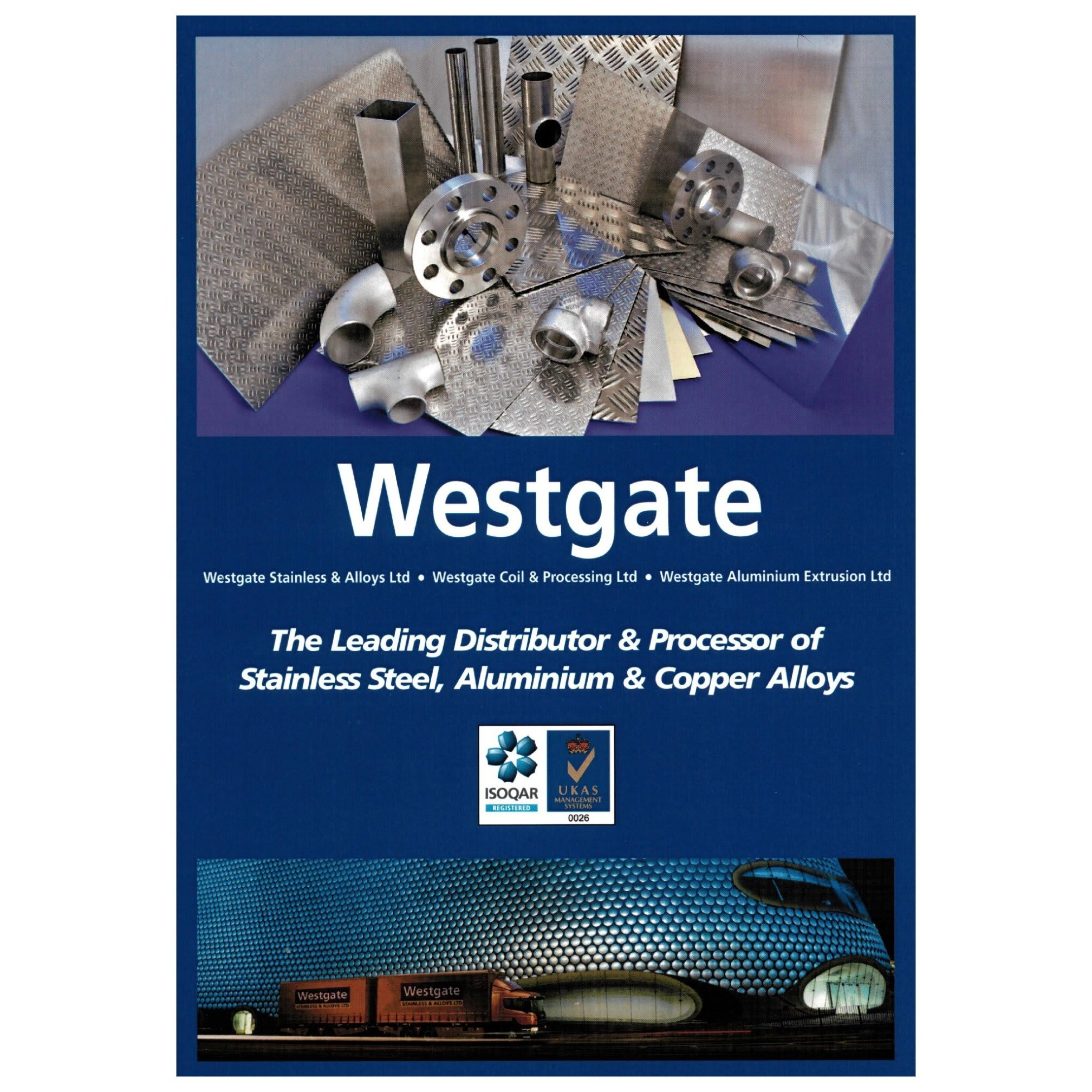 Westgate Stainless & Alloys Ltd - Walsall, West Midlands WS9 8BG - 01922 745664 | ShowMeLocal.com