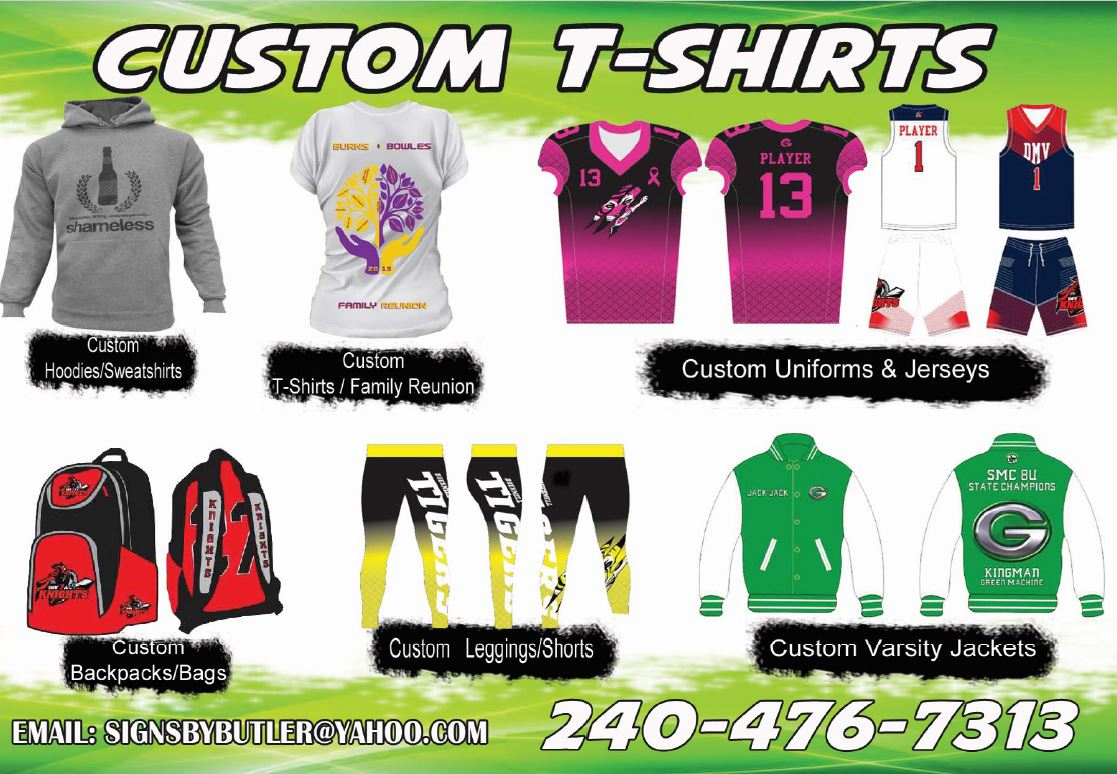 Butler's Custom T-Shirts - Suitland, MD 20746 - (240)476-7313 | ShowMeLocal.com