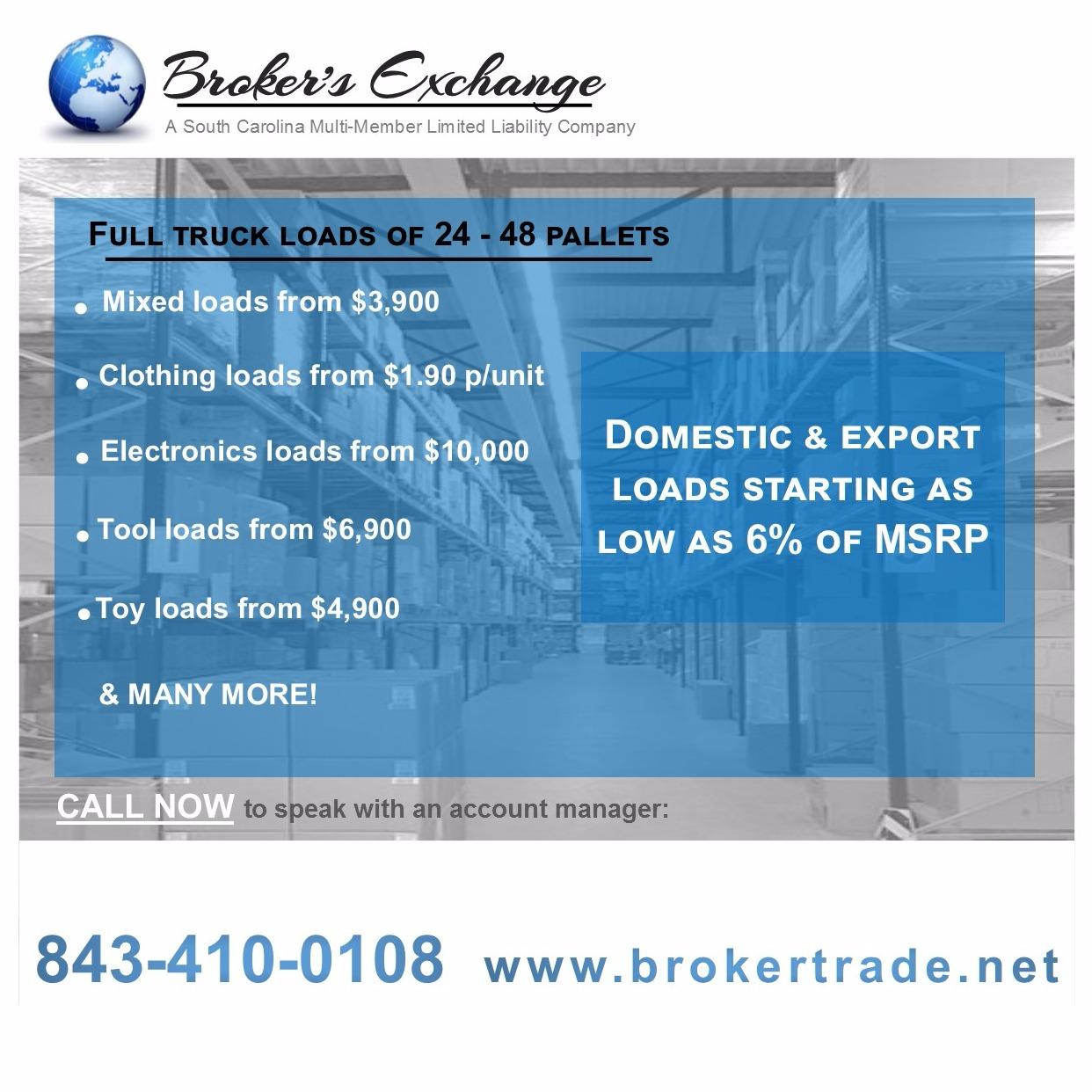 Broker's Exchange, Llc