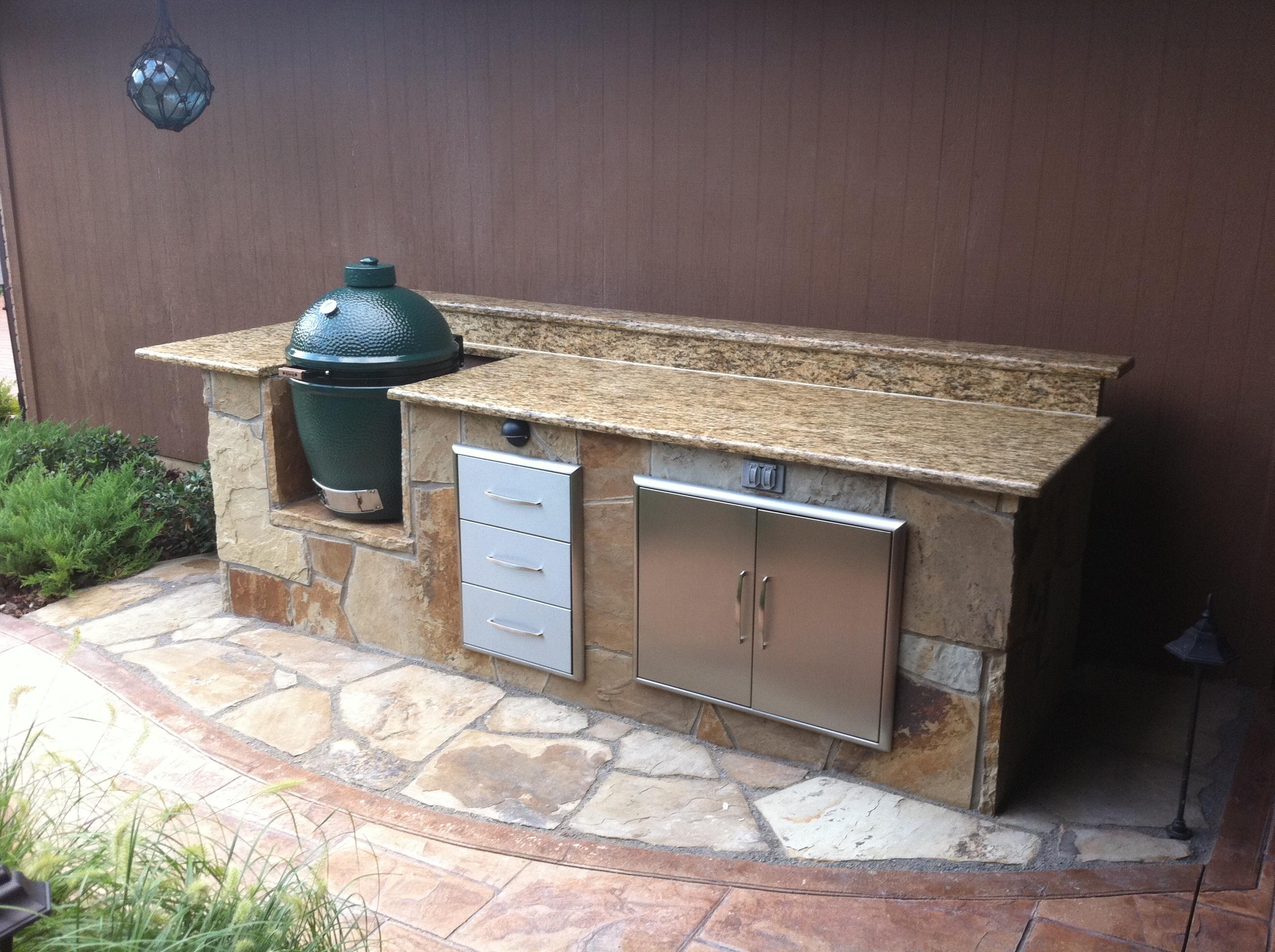 Oklahoma outdoor kitchen for Outdoor summer kitchens