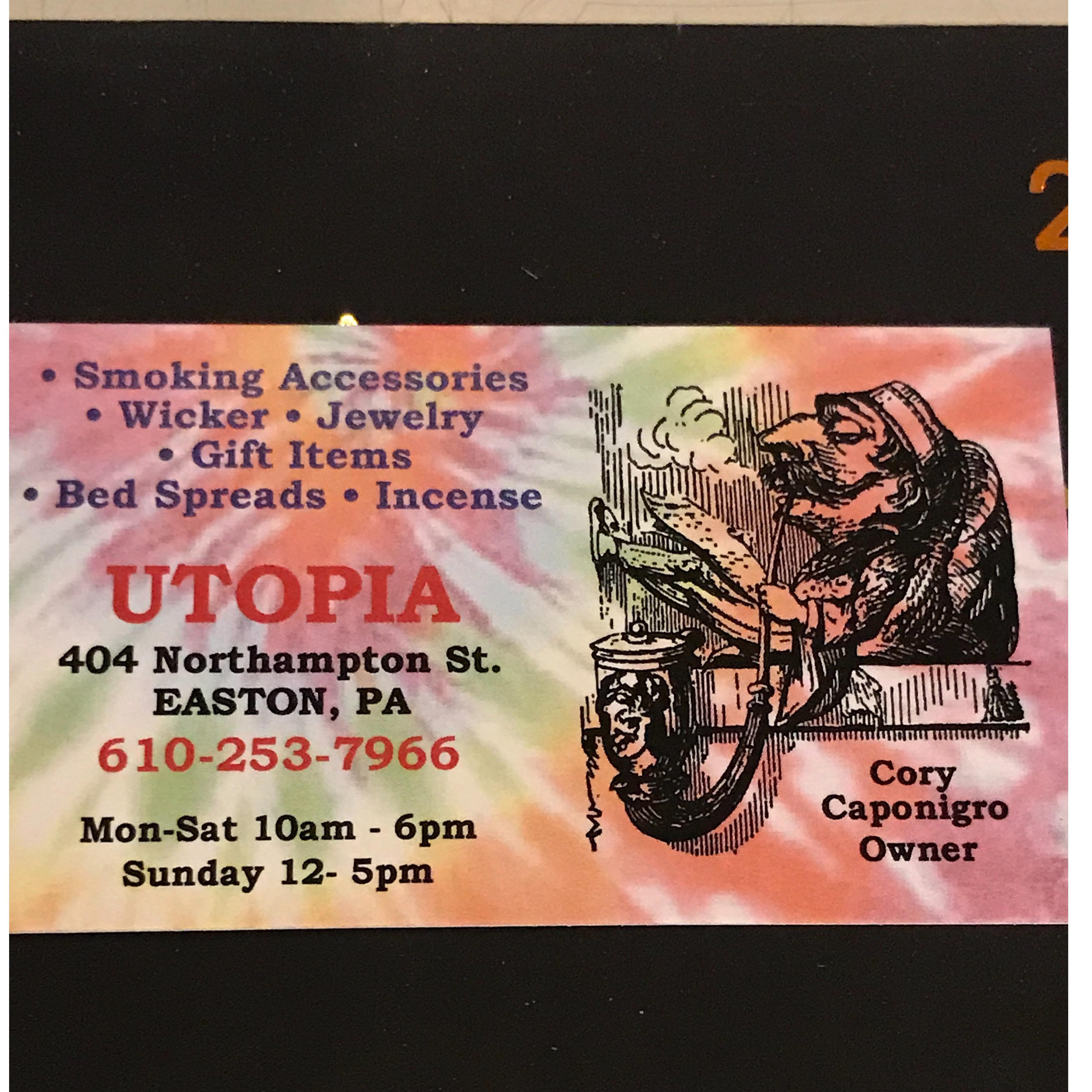 Utopia - Easton, PA - Tobacco Shops