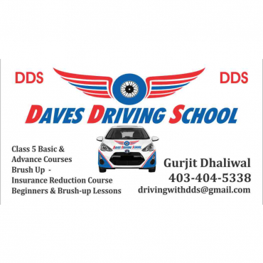 Dave's Driving School Chestermere (403)404-5338