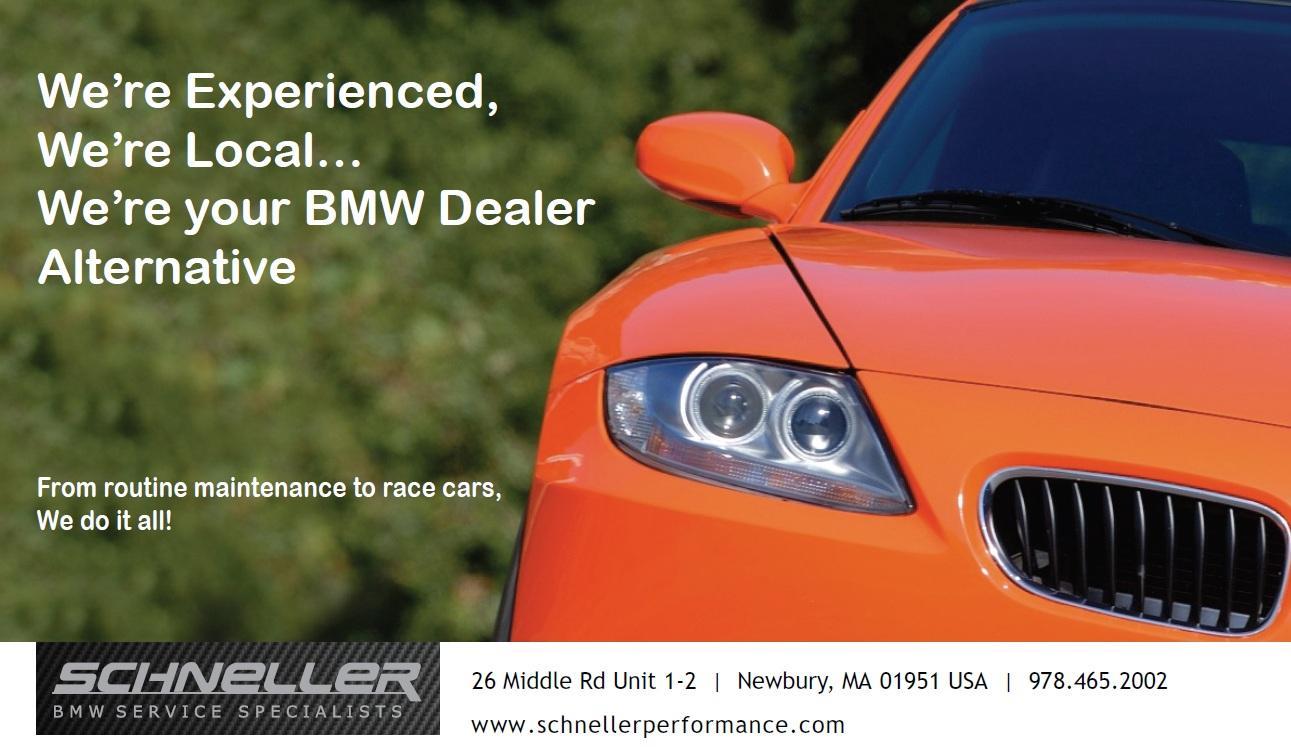 Schneller Bmw Performance - Newbury, MA - Schneller, Your BMW & Mini Dealer Alternative