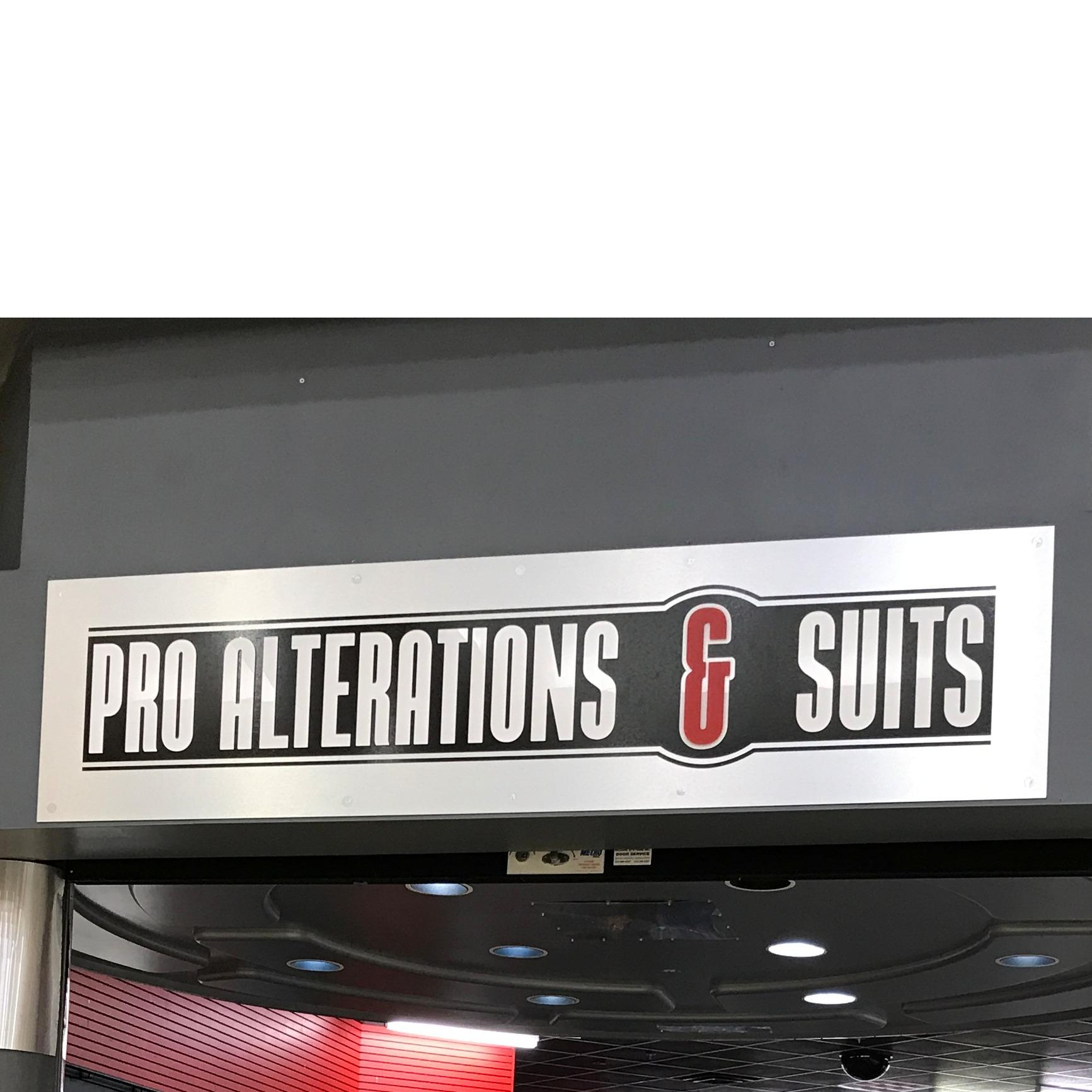 Pro Alterations & Suits