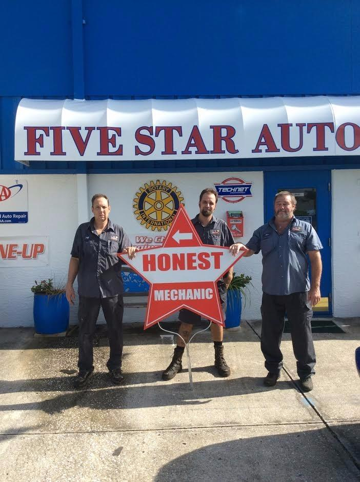 Five Star Automobile Amp Tire Center Holiday Florida Fl