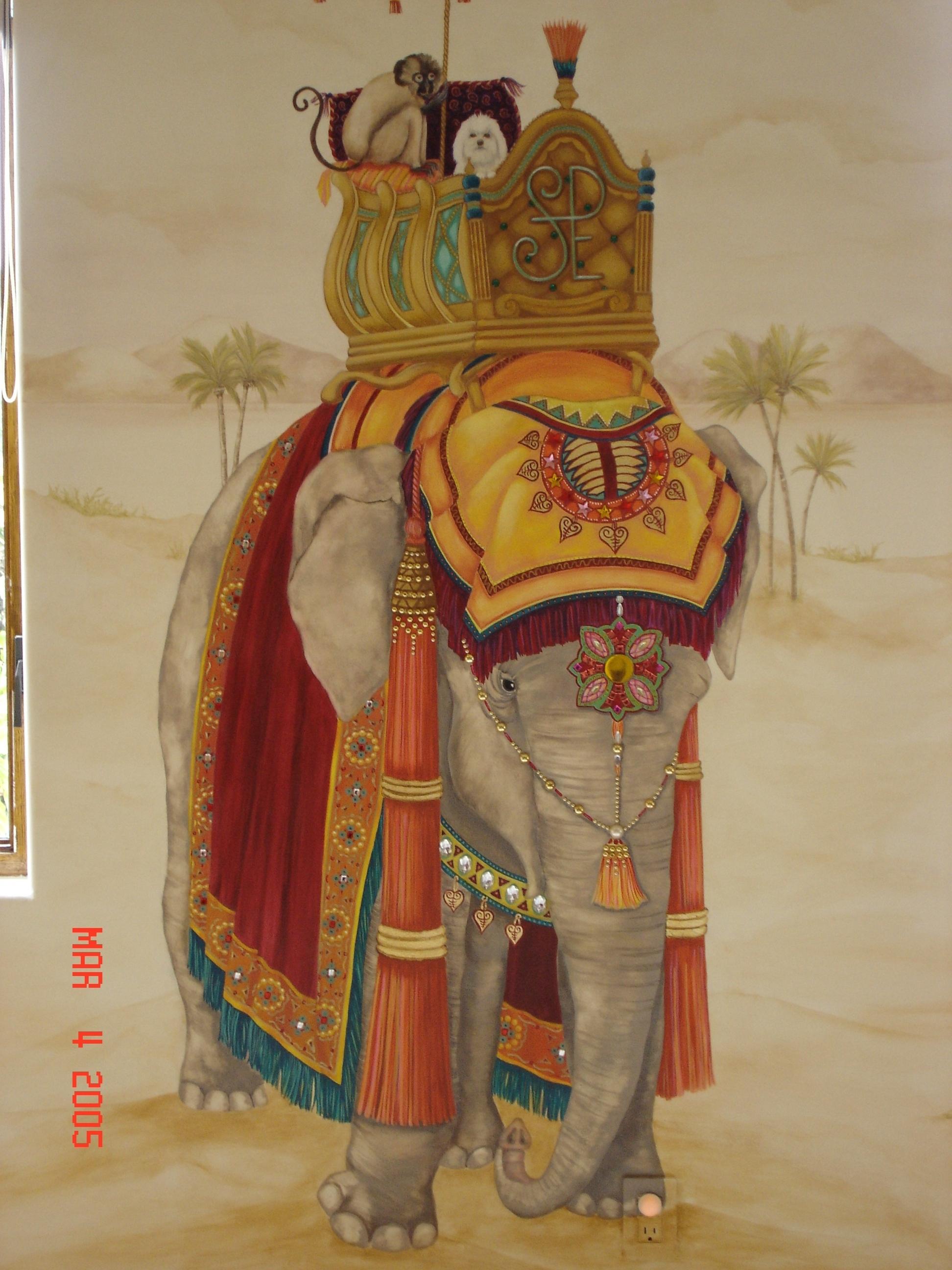 Veronicka Decorative Painting