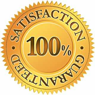 100% DRYER VENT CLEANING CUSTOMER SATISFACTION FOR 90 DAYS!