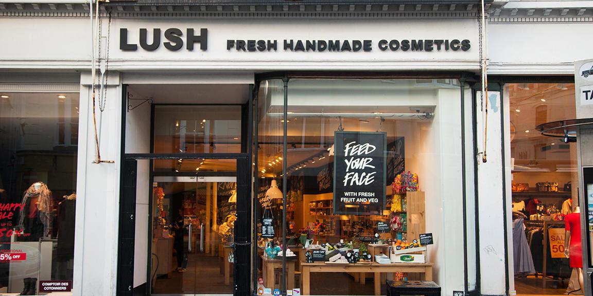 Brighton shop front