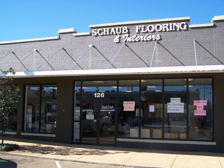 Schaub family flooring interiors coupons near me in for Flooring stores near me