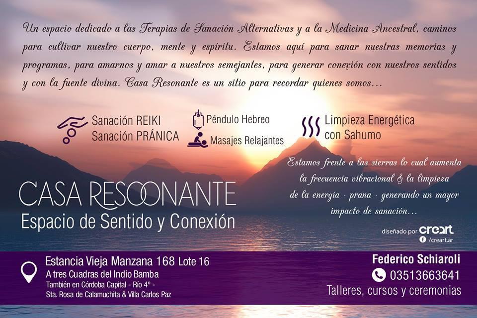 CASA RESONANTE - ESPACIO DE SENTIDOS Y CONEXION