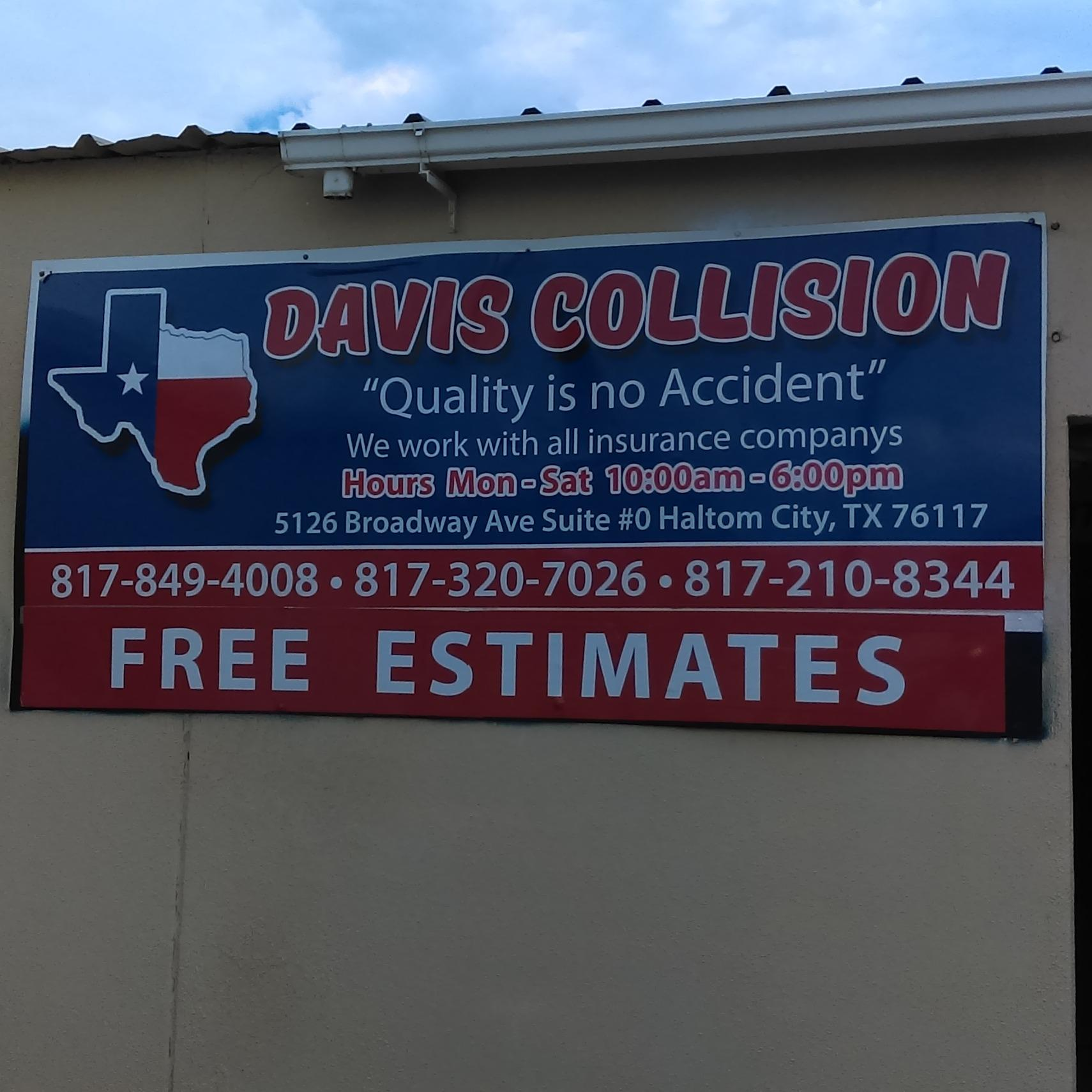 image of the Davis Collision Center