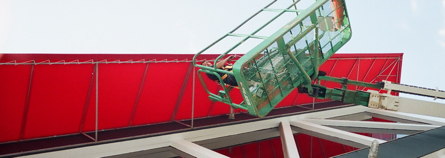 Call A. Hoffman Awning in Baltimore     410-685-5687 Awning High Lift Capabilites