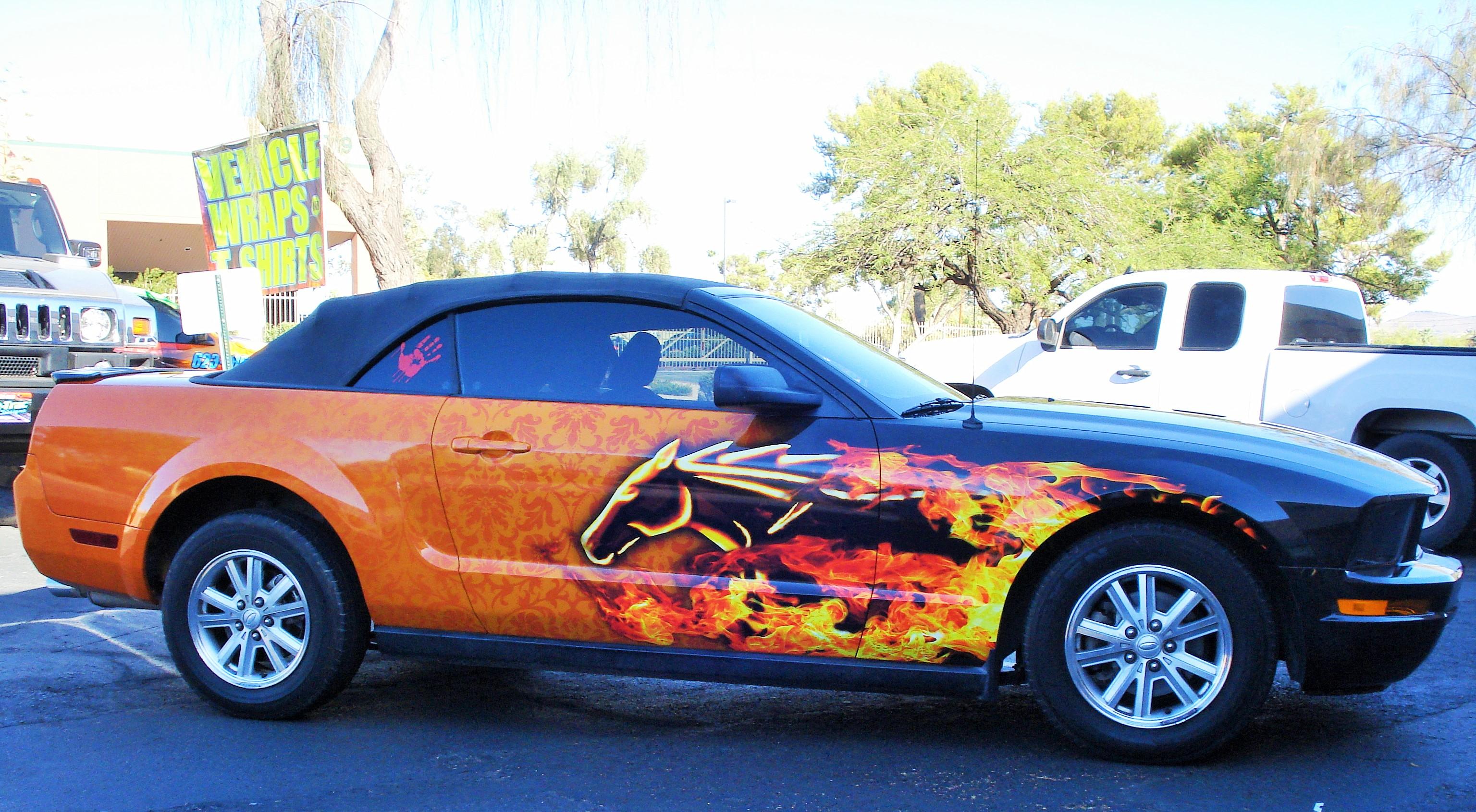 Fast trac designs vehicle wraps screen printing in for Custom t shirts phoenix az