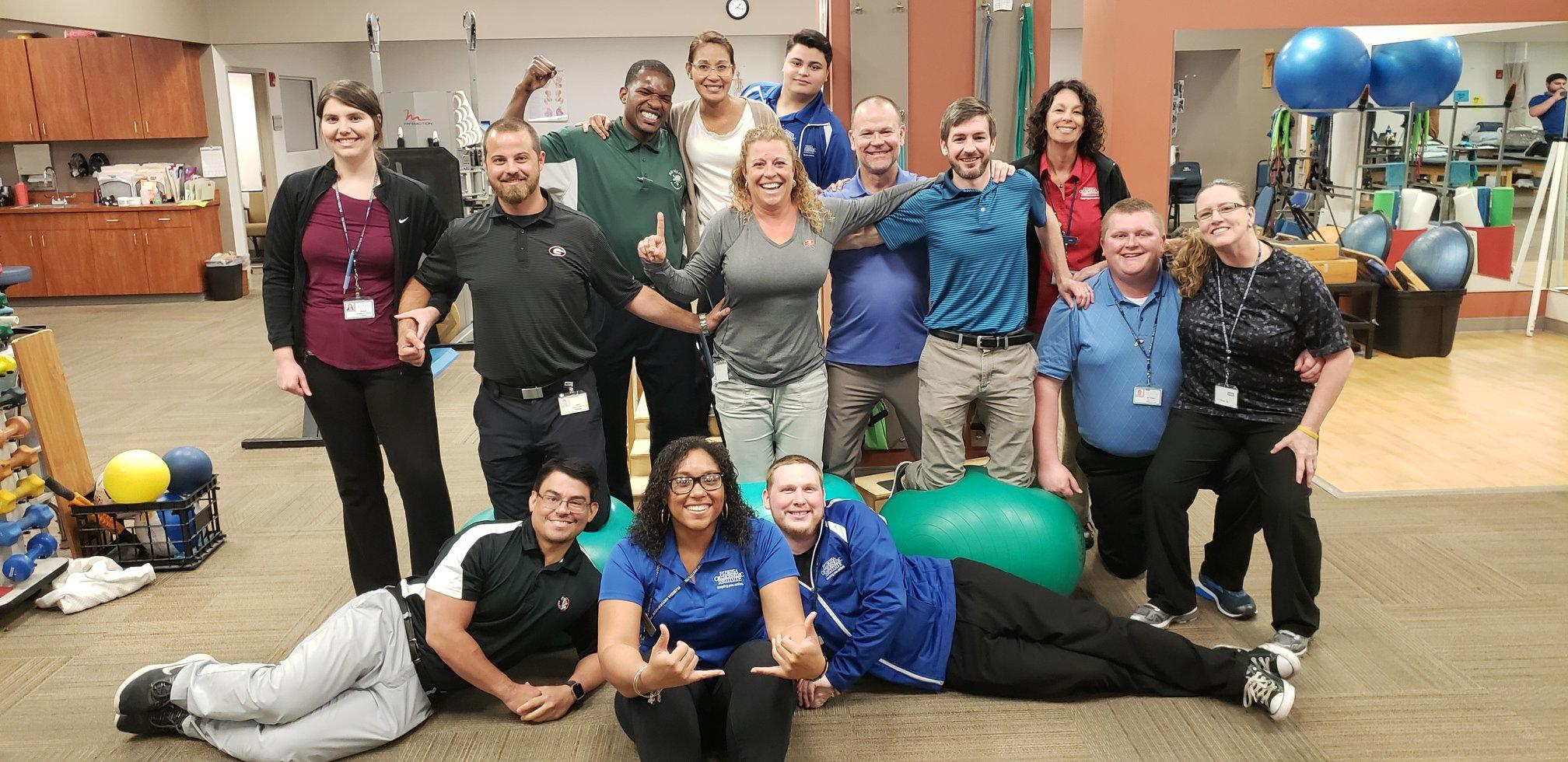 Florida Orthopaedic Institute's Physical Therapy Team