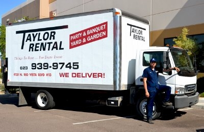 Taylor Rental Super Store Peoria Az on table and chair rentals las vegas