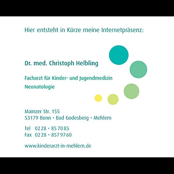 Herr Dr. med. Christoph Helbling