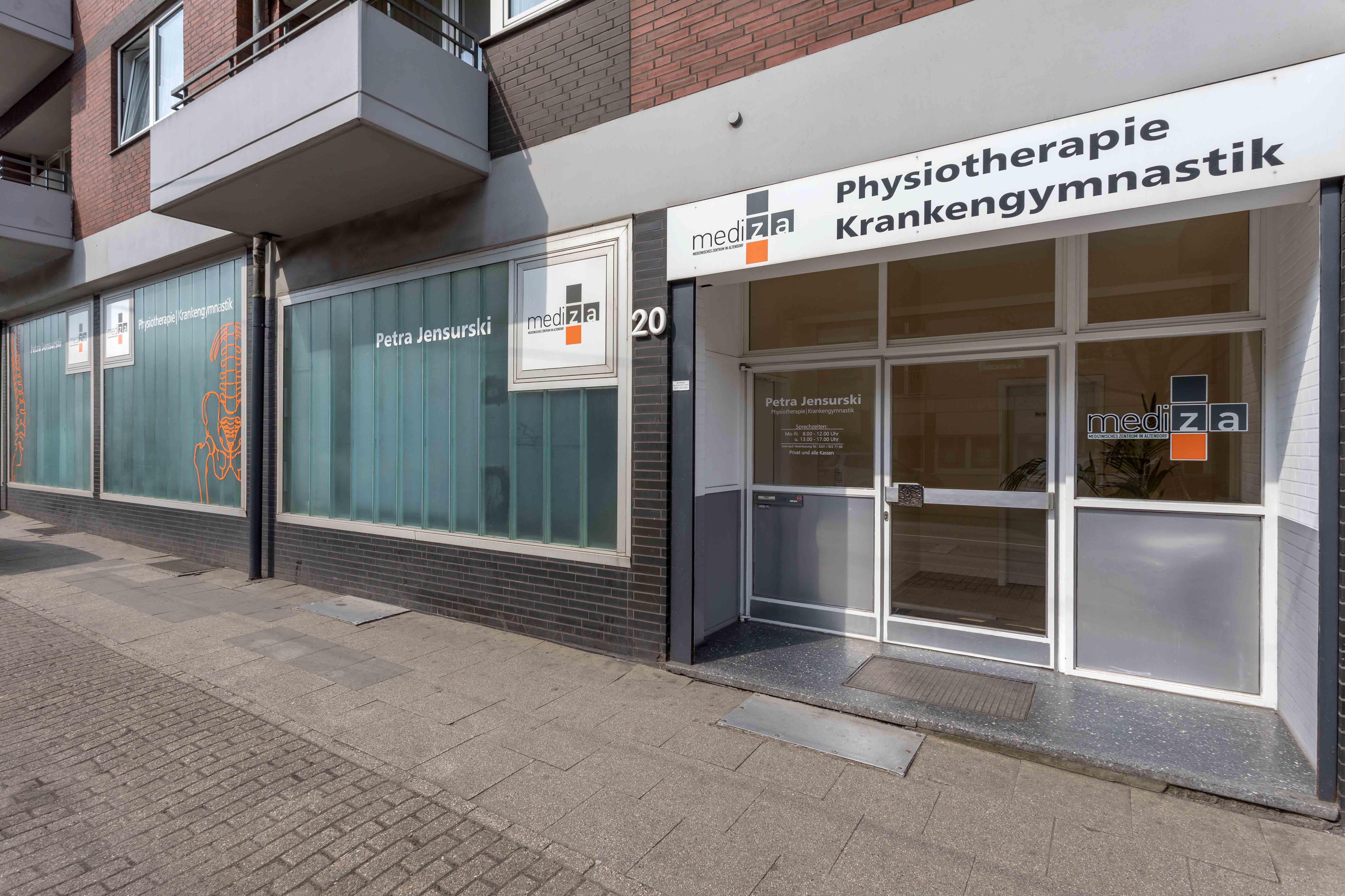 Praxis für Physiotherapie Petra Jensurski Essen