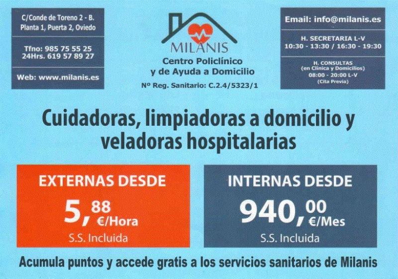 Milanis - Centro Policlínico y de Ayuda a Domicilio