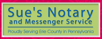 Sue's Notary & Messenger Service