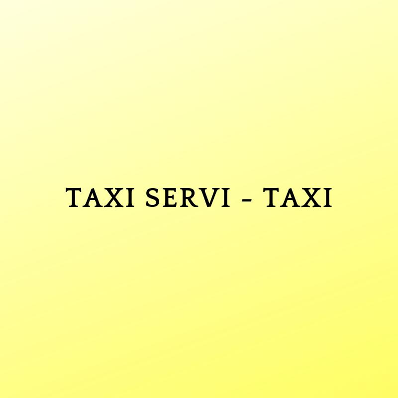 TAXI SERVI - TAXI