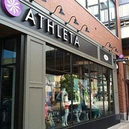 Athleta Store locator Athleta store locator displays list of stores in neighborhood, cities, states and countries. Database of Athleta stores, factory stores and the easiest way to find Athleta store locations, map, shopping hours and information about brand.