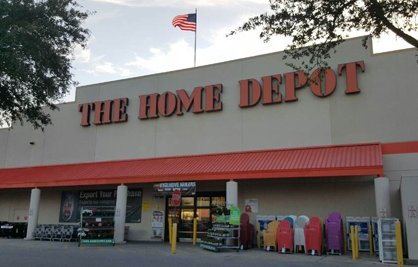 The home depot in tampa fl 33607 for Furniture w waters ave tampa