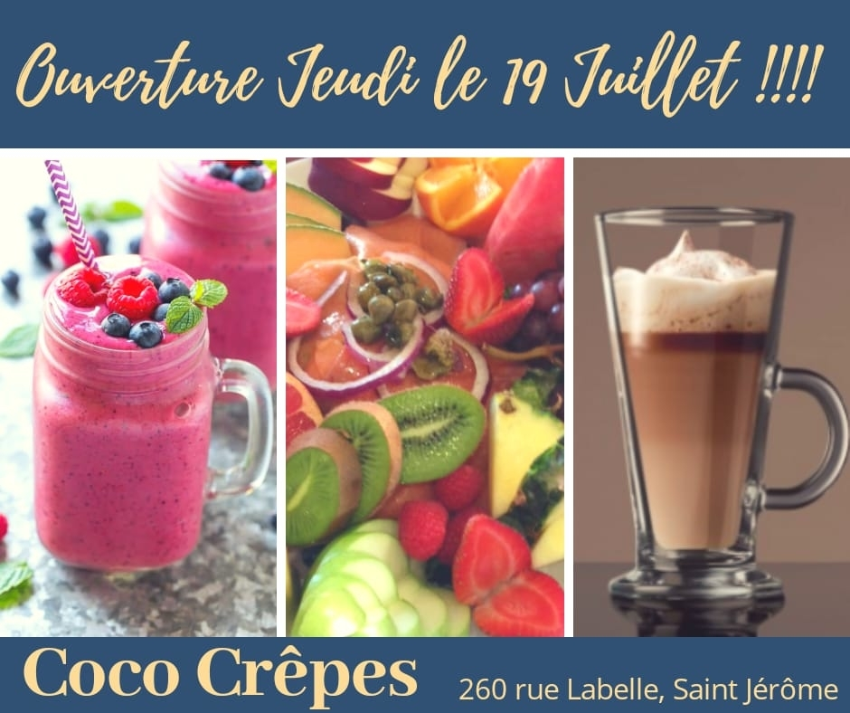 Coco Crepes St Jerome - Saint-Jerome, QC J7Z 5L1 - (450)304-1640 | ShowMeLocal.com