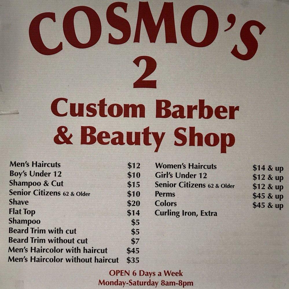Cosmo's 2 Barber Shop - Pleasanton, CA - Beauty Salons & Hair Care