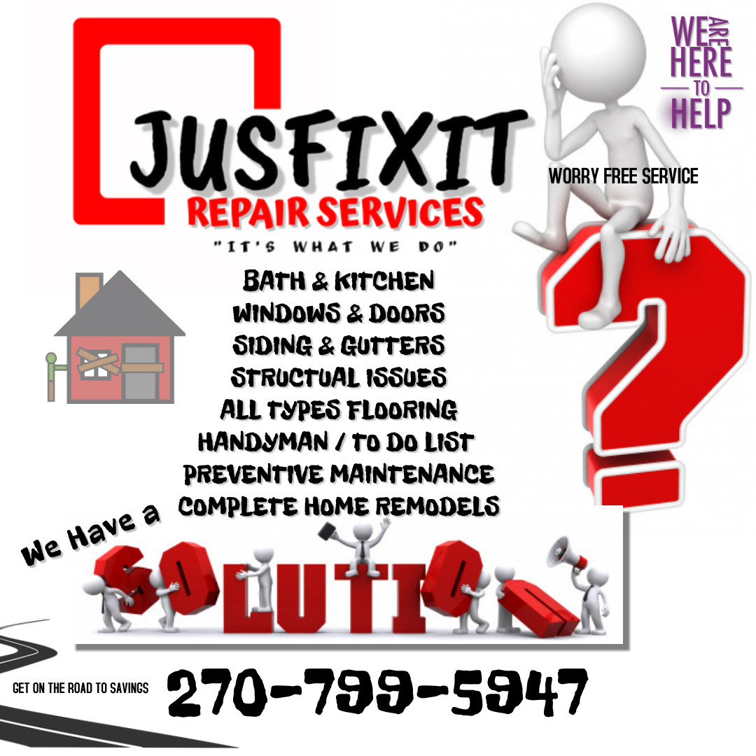 JUSFIXIT HOME  and  AUTO REPAIR SERVICES LLC