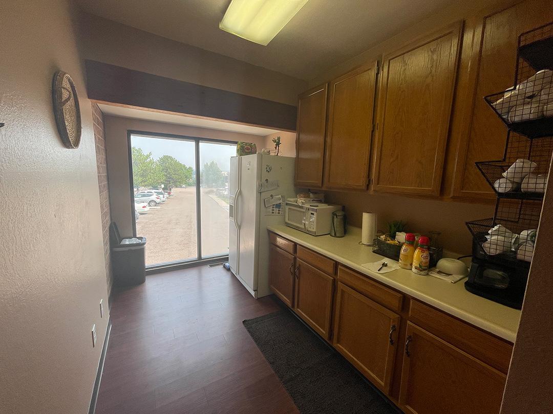 THM2G kitchen area