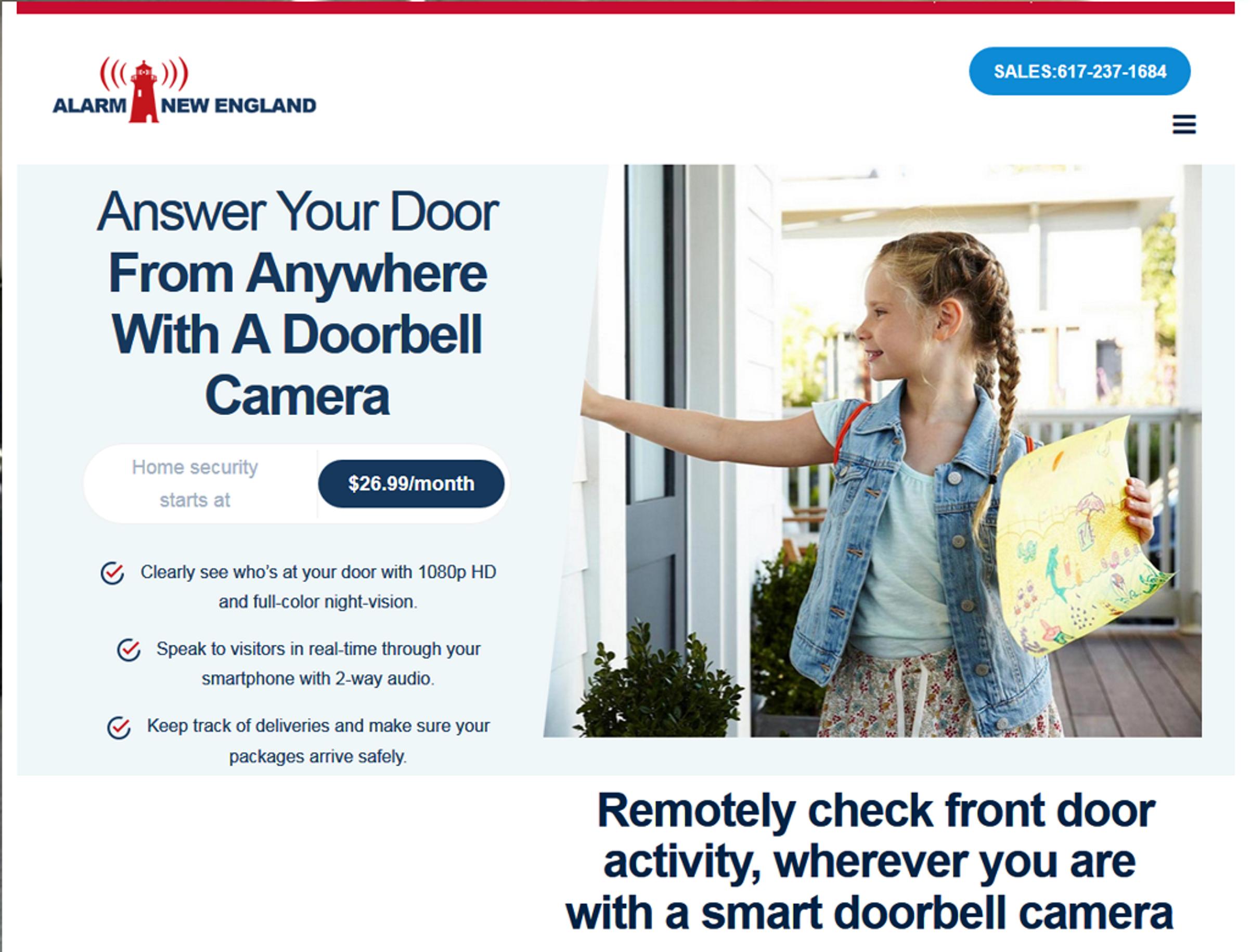 Video Doorbell  in North shore / Newburyport ma