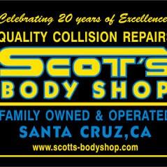 Scott's Body Shop - Santa Cruz, CA - Auto Body Repair & Painting