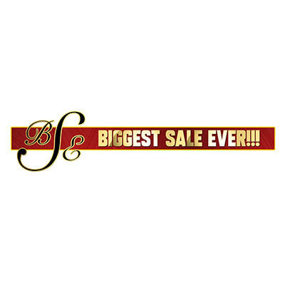 Biggest Sale Ever