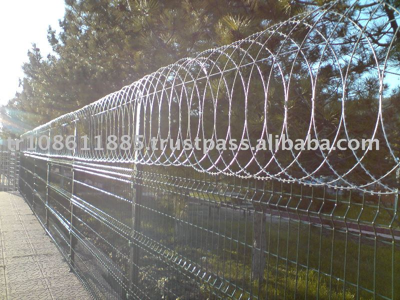 Us Razor Wire Professinal Installation Available Easy
