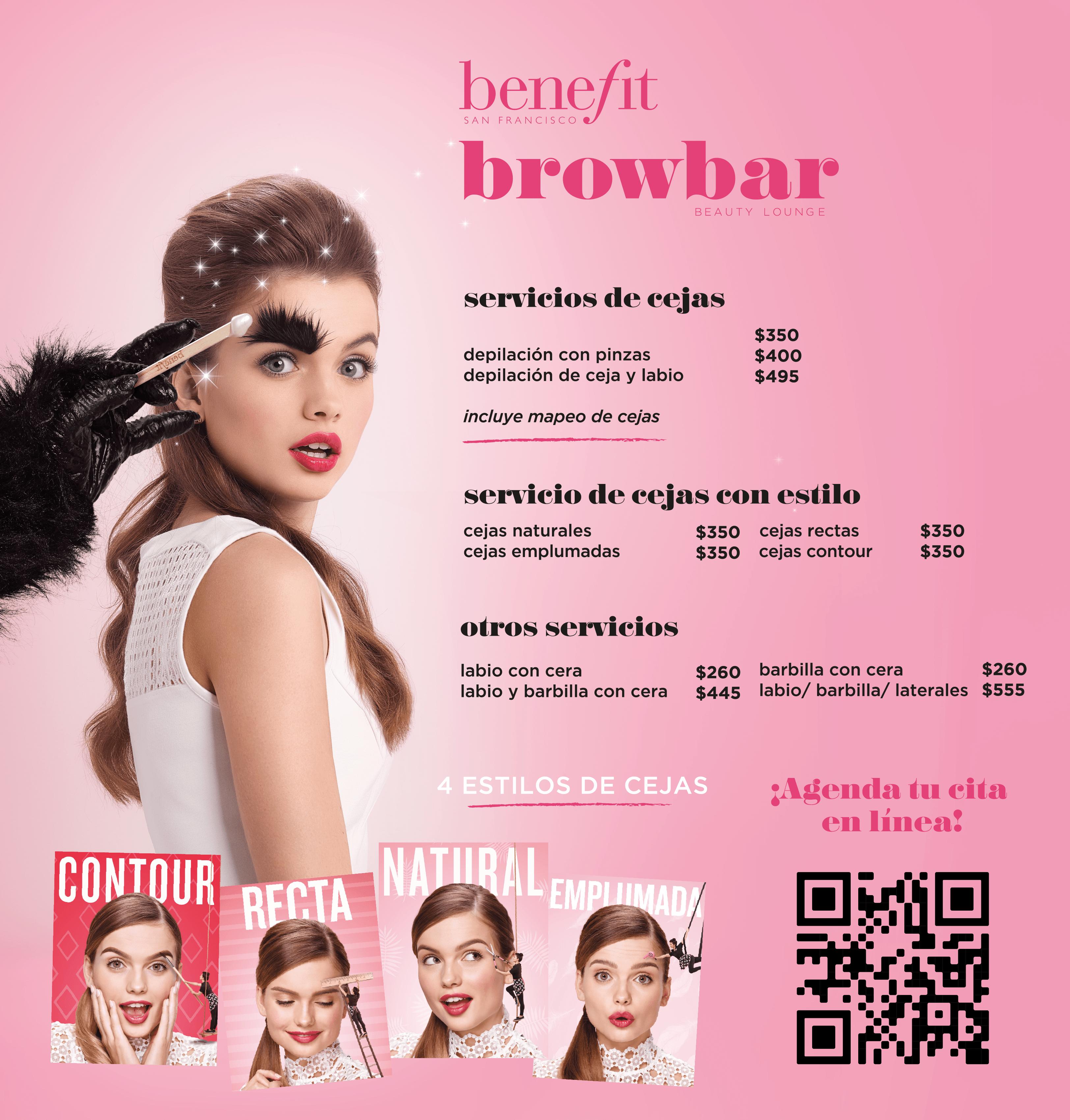 Benefit BrowBar Depilación de Cejas – Sephora Culiacan